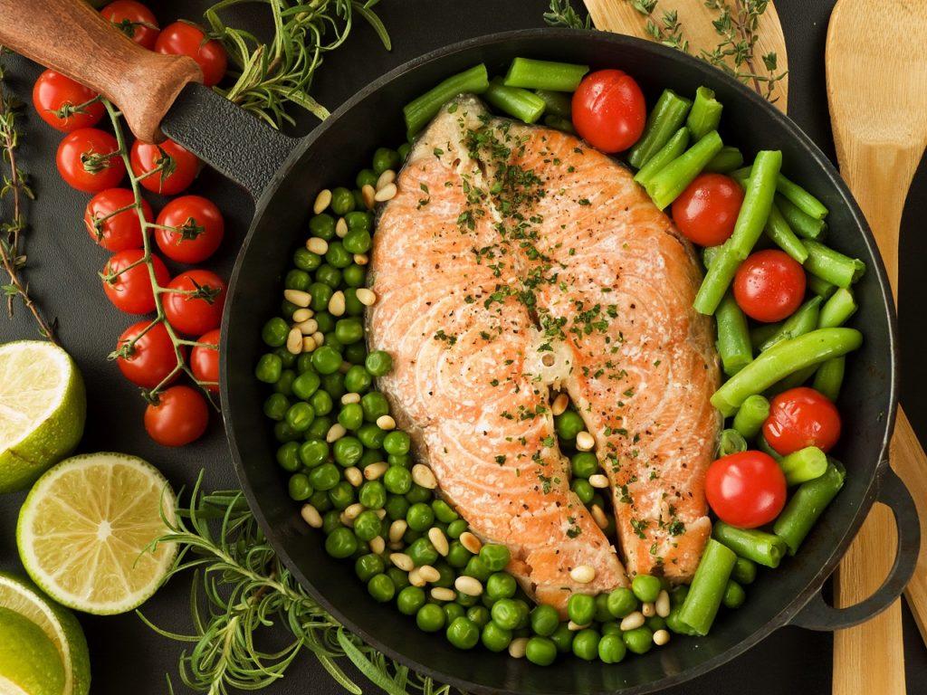 Приготовление блюд на ужин по правилам правильного питания