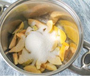 Технология приготовления компота из айвы по пошаговому рецепту