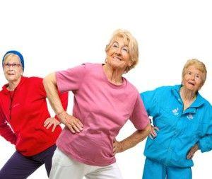Комплекс зарядки для пожилых, правила ее проведения