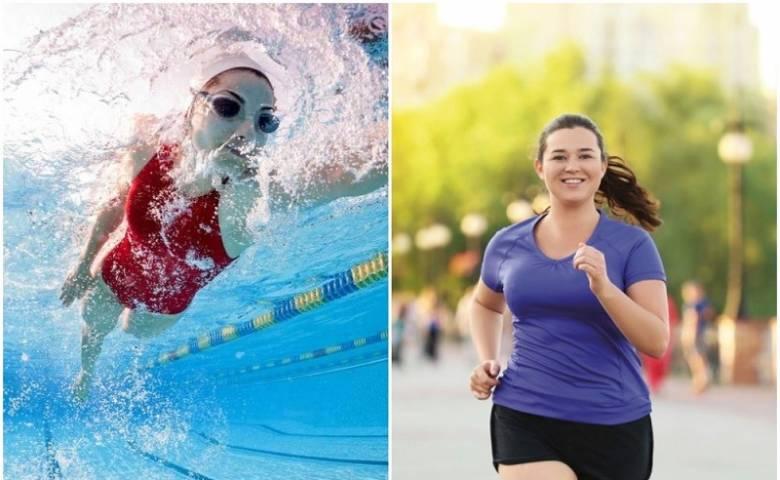 Что лучше - бег или плавание: преимущества и недостатки, совмещение физических занятий