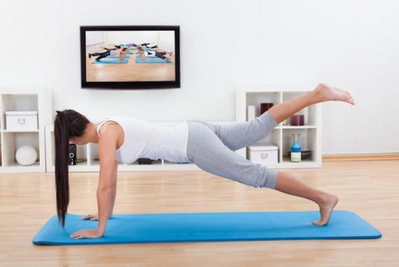 Видео упражнений для похудения