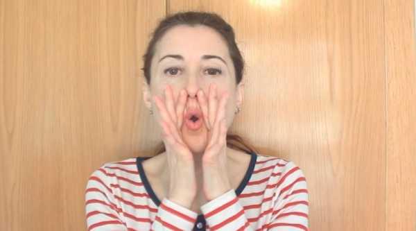 Упражнения Кэрол Маджио для укрепления мышцы лица