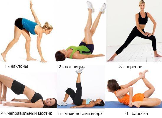 Упражнения и тренажеры для бедер и ягодиц дома или в зале