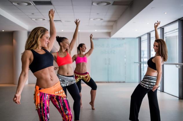 Видеоуроки основных техник танца живота для начинающих