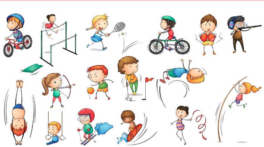 Виды спорта - список и характеристика
