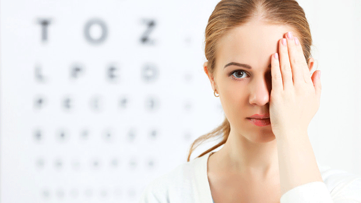 Упражнения для улучшения зрения