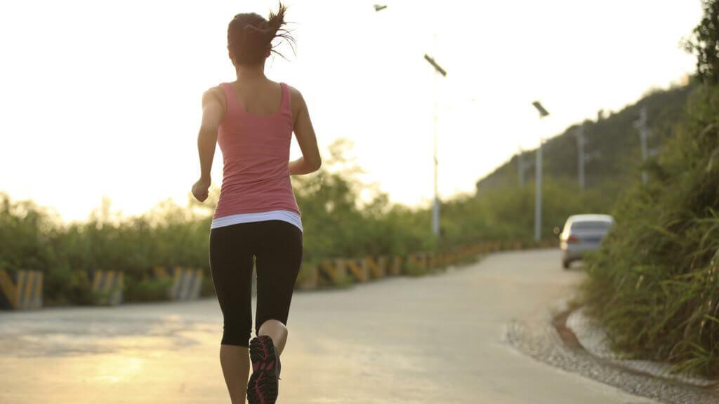 Техника бега для исключения болей коленей после тренировки