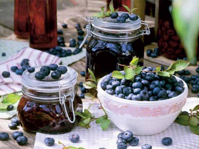 Варенье из малины и черники