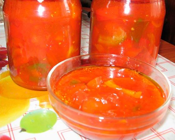 Перец в томате сладкий