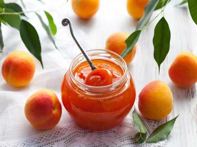 Варенье с абрикосов с лимоном дольками