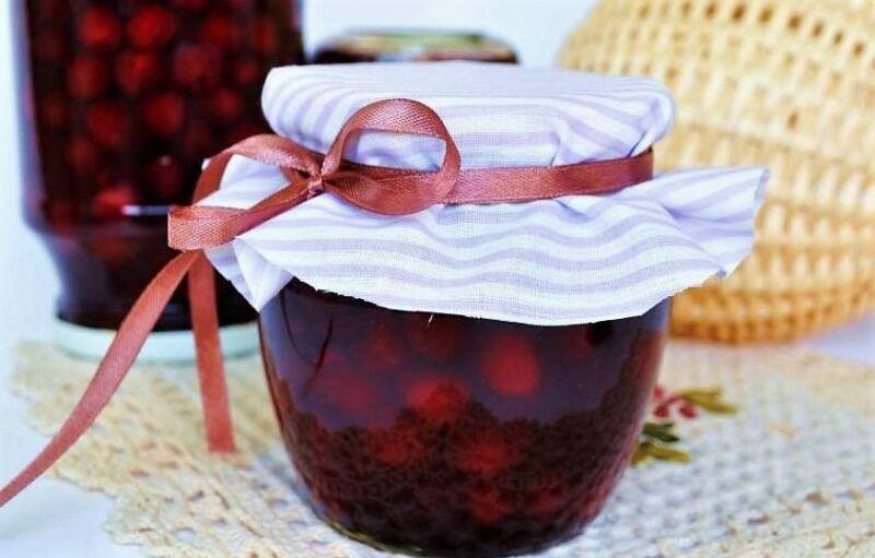 Варенье из вишни - китайской