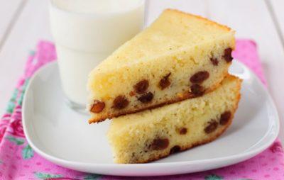 Пирог манник на молоке: классический рецепт