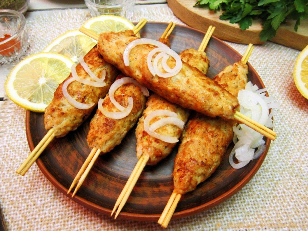 Как сделать люля-кебаб из курицы: пошаговые рецепты