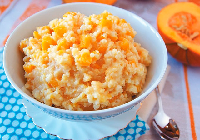 Как приготовить тыквенно-рисовую кашу в мультиварке