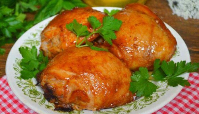 Курица в медовом-горчичном соусе — ТОП рецептов