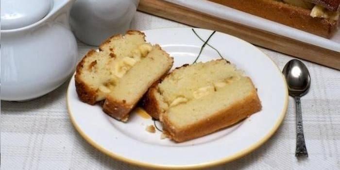 Банановые пироги: лучшие пошаговые рецепты приготовления
