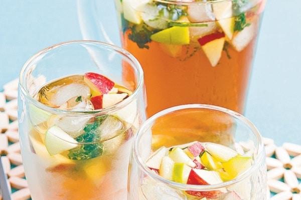 Подборка пошаговых рецептов приготовления холодного чая