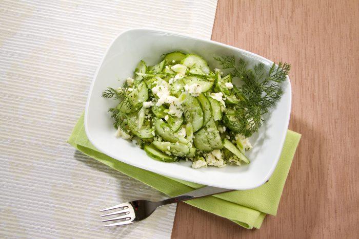 Рецепты диетических салатов с творогом