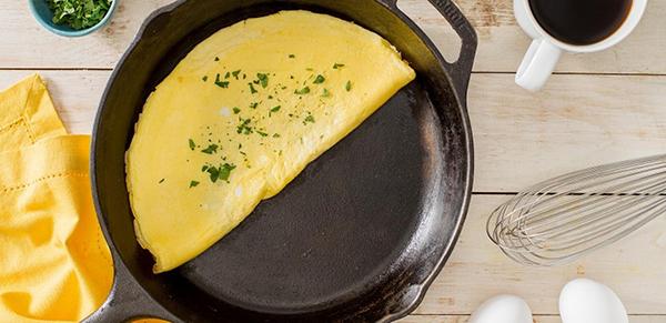 Как приготовить пышный вареный омлет в пакете