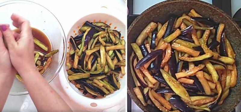 Баклажаны жареные консервированные — как правильно сделать заготовку на зиму