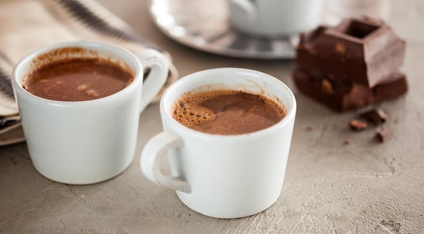 Как сделать горячий шоколад из какао порошка