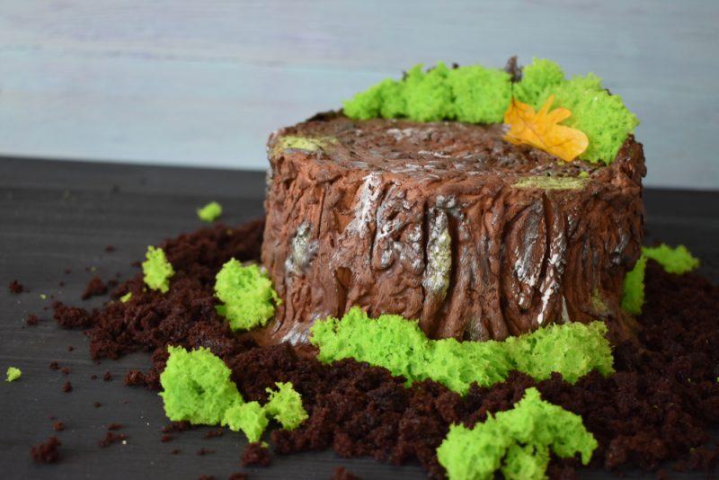 Торт Трухлявый пень - классический рецепт с вареньем