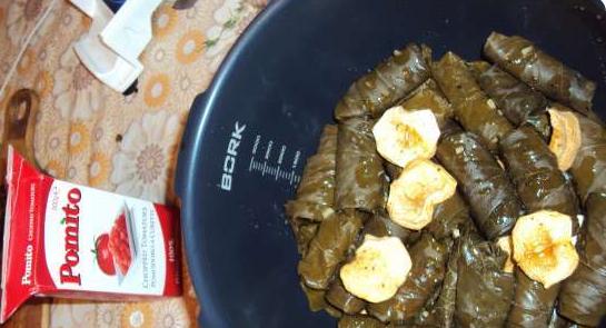 Лучшие рецепты долмы с пошаговыми инструкциями и фото
