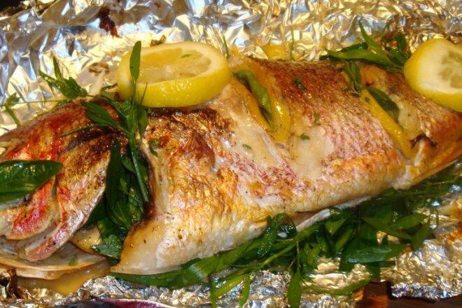 Как приготовить шашлык из рыбы на мангале