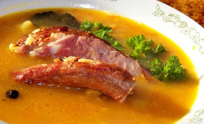 Как правильно сварить гороховый суп чтобы горох разварился