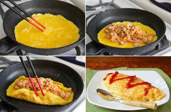 Как приготовить японский рисовый омлет - пошаговые рецепты