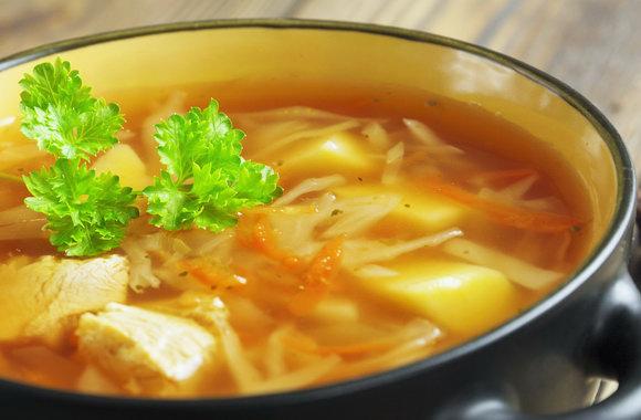 Как приготовить вкусные щи из свежей капусты со свининой