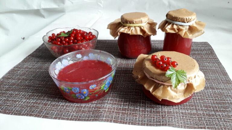 Готовим вкусное желе из красной смородины: рецепты пошагово