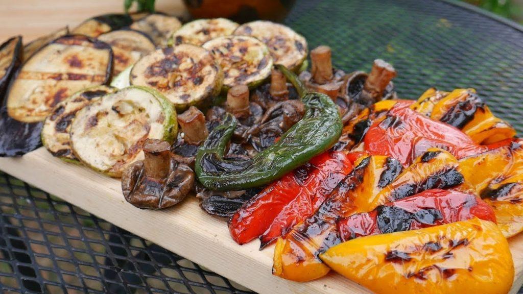 Рецепты маринадов для овощного шашлыка на мангале