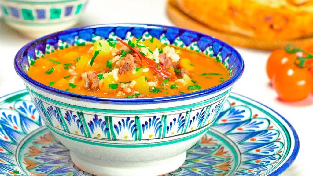 Готовим национальное узбекское блюдо - суп мастава