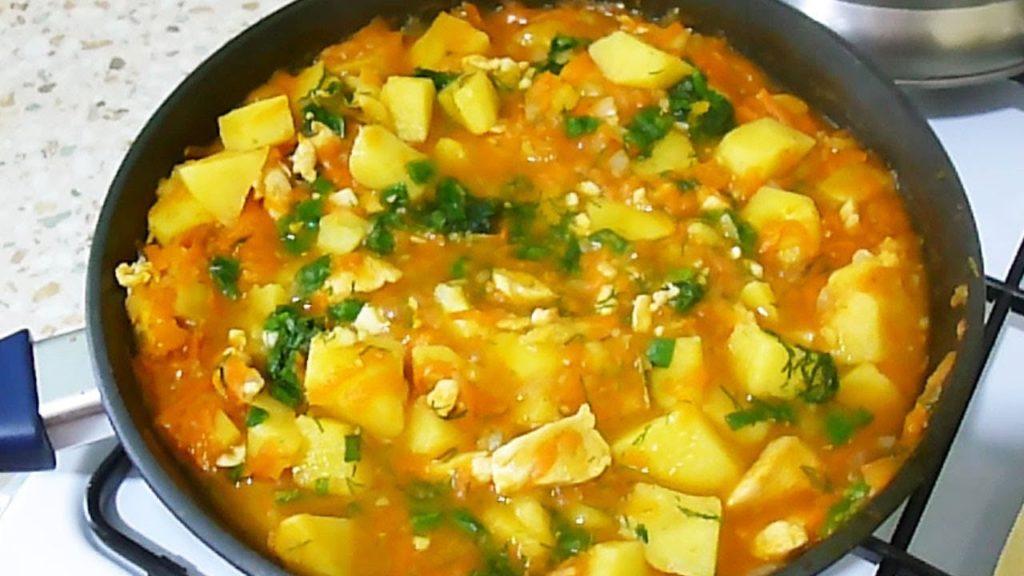 Тушеная курица с овощами: рецепты с фото пошагово