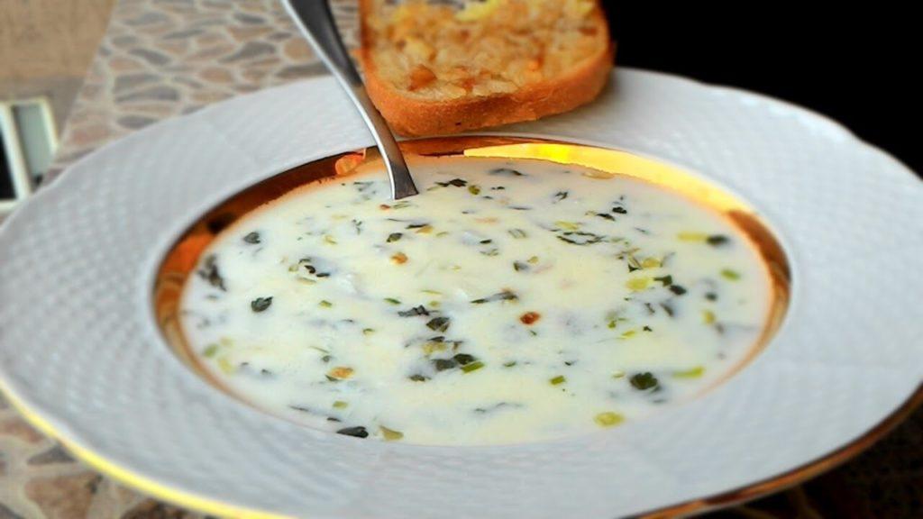 Готовим легкий армянский кисло-молочный суп Спас