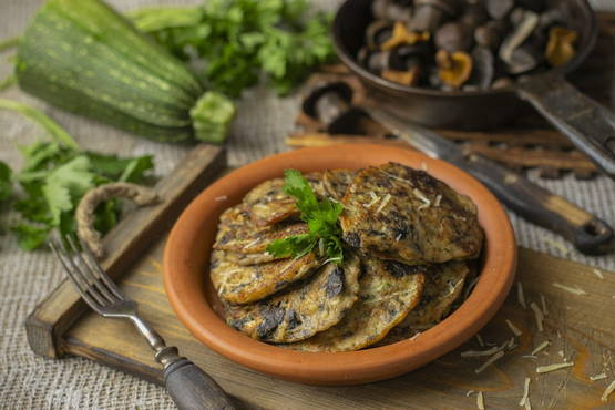 Вкусные кабачковые оладьи в духовке: рецепты пошагово