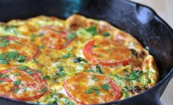 Омлет с брокколи в духовке и на сковороде - лучшие рецепты
