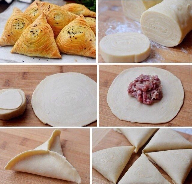 Хрустящая и сочная самса в духовке: рецепты