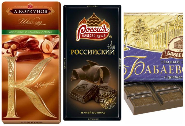 Виды шоколада по составу, способу производства, форме