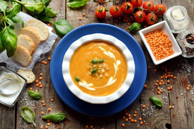 Простые и вкусные рецепты супа-пюре из чечевицы