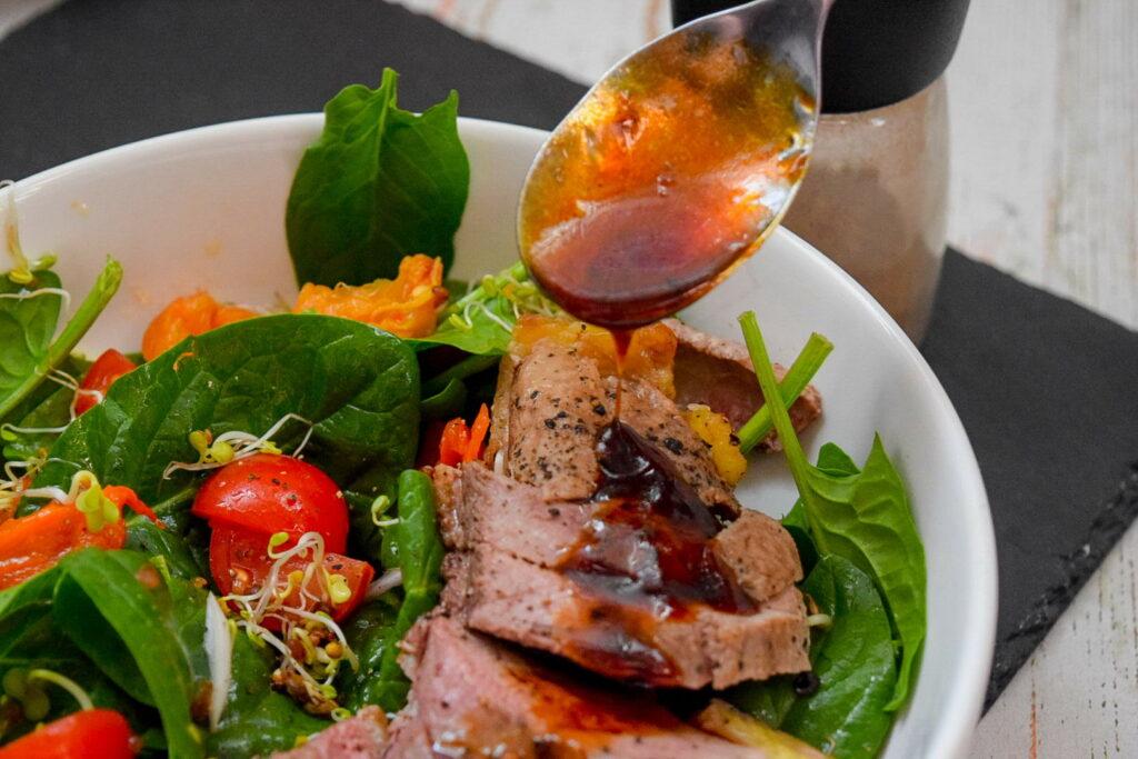 Рецепты салатов с утиной грудкой пошагово