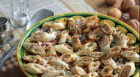 Подборка рецептов салата Кояш: овощной, с курицей, с рыбой