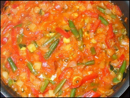 Готовим салат со стручковой фасолью на зиму