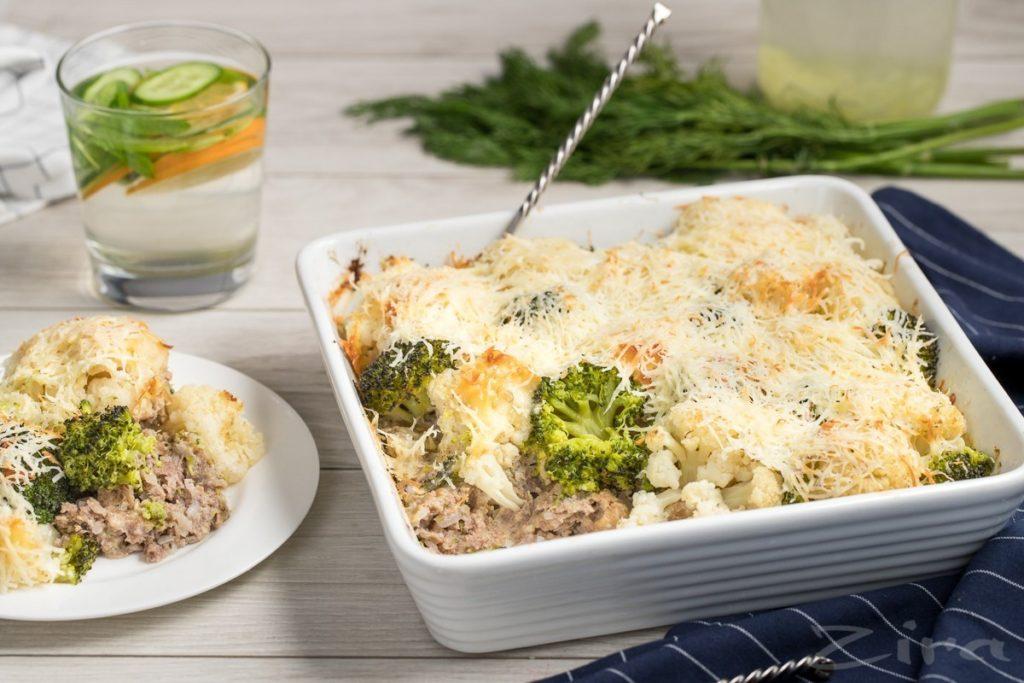 Запеченная цветная капуста с сыром: пошаговые рецепты со сметаной, в сливках, помидорами