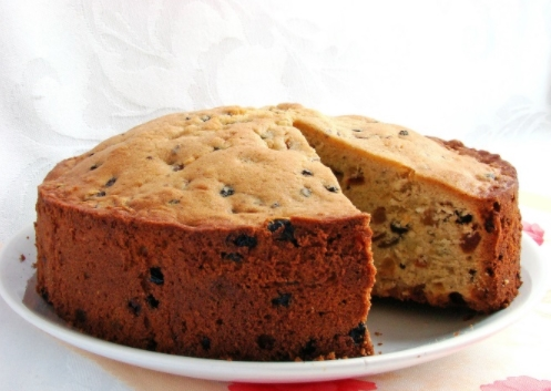 Кекс с изюмом - традиционный рецепт и другие с разными дополнениями