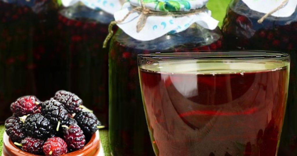 Компот из шелковицы - как правильно варить и заготавливать на зиму