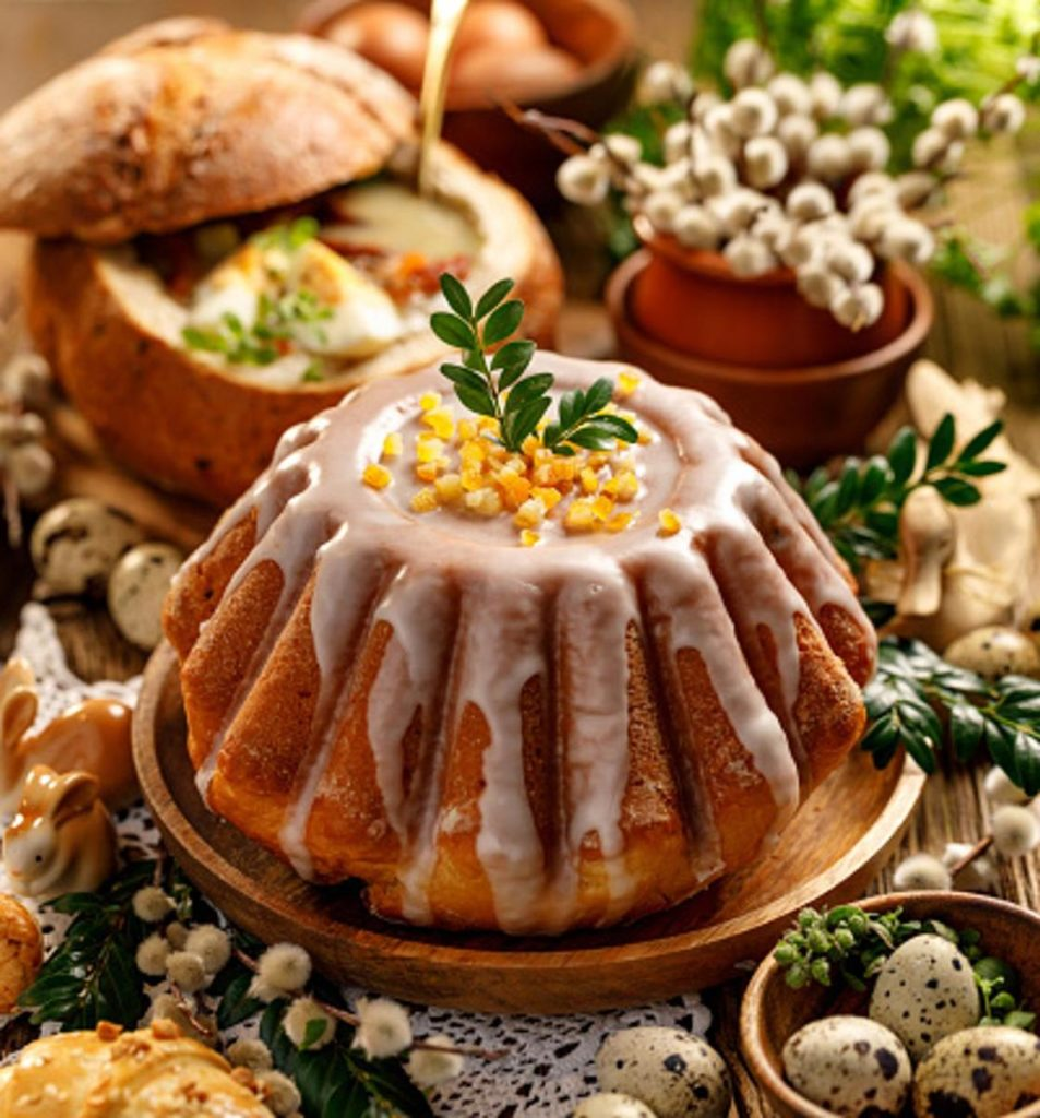 Александрийский кулич - пошаговый рецепт с подробным описанием