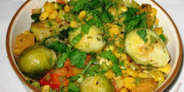 Как приготовить вкусное овощное рагу без мяса